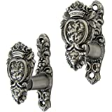 TG,LLC Medieval Lion Head Wall Mount Weapon Hooks Set