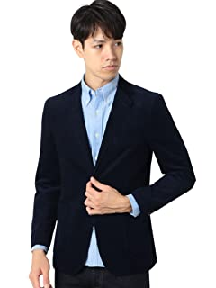 Corduroy 2-button Jacket 3222-186-0303: Navy