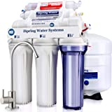 iSpring RCC7AK 6-Stage Under-Sink Reverse Osmosis Drinking Water Filtration System with Alkaline Remineralization Filter - 75