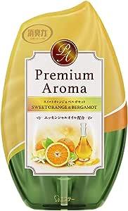 お部屋の消臭力 プレミアムアロマ Premium Aroma 消臭芳香剤 部屋用 部屋 スイートオレンジ&ベルガモットの香り 400ml