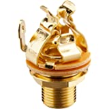 "Pure Tone Multi Contact Mono 1/4"" Output Jack, Gold"