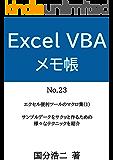 エクセルVBAメモ帳 エクセル便利ツールのマクロ集(1)