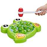 Think Gizmos Interactive Whack A Frog TG702 - Fun  Boys & Girls of Age 3 4 5 6 7 8, Learning, Active, Early Developmental STE