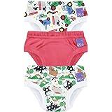 Bambino Mio, potty training pants, farmer friends, 2-3 years, 3 pack