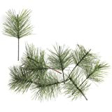 yalansmaiP 20 Pieces Artificial Pine Needles Branches, Faux Sprigs Greenery Pine Twigs Stems Picks DIY Accessories for Garlan