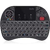 Ewin® [新型] ミニ キーボード JIS配列 ワイヤレス式 2.4GHz 無線 マウスホイール付き タッチパッド搭…