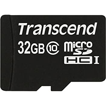 Transcend microSDHCカード 32GB Class10 変換アダプタ無し TS32GUSDC10