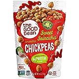 The Good Bean Crunchy Chickpeas Snacks, Sweet Sriracha , 6 Ounce