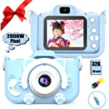 【2020最新版】子供用 デジタルカメラ トイカメラ 子供プレゼント 2000万画素 子供カメラ 子供用カメラ キッズカメラ 子供がスマホのカメラ 子供用のカメラ 子供専用のカメラ 可愛いデジタルカメラ 子供専用デジタルカメラ 自撮可能 2000万画