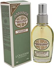 Loccitane Almond Supple Skin Body Oil for Unisex, 3.4 oz, 102 milliliters
