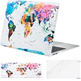MOSISO MacBook Air 13 inch Case 2020 2019 2018 A2337 M1 A2179 A1932 Retina Display, Plastic Pattern Hard Shell&Keyboard Cover