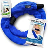 RespLabs CPAP Hose Cover with Zipper - Fits All Type of Tubing, 6 Foot - Reusable, Comfort Fleece, Tubing Insulator. Super So