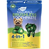 Ark Naturals Breath-Less Brushless Toothpaste, Dental Chews for Mini and Small Dogs, Plaque, Tartar, and Bacteria Control, Ch