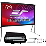 Elite Screens Yard Master 2, 135 inch Outdoor Projector Screen with Stand 16:9, 8K 4K Ultra HD 3D Fast Folding Portable Movie