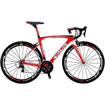 SAVADECK(サバデック) HERD 6.0 ロードバイク 700C T800炭素繊維 シマノ 105 5800グループセット22段変速 カーボンフレーム/ホイールセット/シートポスト/フォーク/ 超軽量 自転車 18.3 lbs