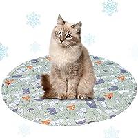 猫ひんやりマット ペットクールマット 犬冷却シート ひえひえ爽快 冷感 犬猫用 熱中症 暑さ対策 夏用多用途人間ペット両…