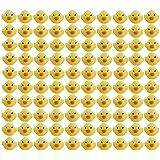 玩具の神様® かわいい ピヨピヨ アヒルちゃん 100個 セット お風呂でプカプカ (100匹セット)