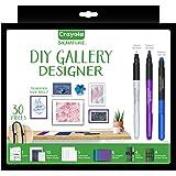 CRAYOLA 40459 Signature DIY Gallery Designer Wall Art
