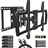 MOUNTUP Full Motion TV Wall Mount for 42-70 Inch Flat Screen TVs, Wall Mount TV Bracket - Articulating Arms with Smooth Exten