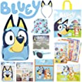 Bluey Showbag Kids Gift Pack with Backpack Cooler Bag Colouring Pages Toys Stickers – Show Bag for Birthday Christmas Easter