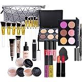 Makeup Kit for Women Full Kit, 28PCS Multi-Purpose Makeup Kit All-in-One Makeup Gift Set Makeup Essential Starter Kit, Compac