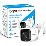TP-Link Tapo Outdoor Security Camera/CCTV, Weatherproof, No Hub Required, Compatible with Alexa&Google Home, 3MP High Definit