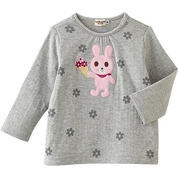b421002f9ddbc ミキハウス ホットビスケッツ (MIKIHOUSE HOT BISCUITS) Tシャツ 73-5205-972 100cm グレー