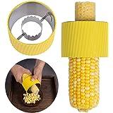 Manual Corn Stripper Peeler,304 Stainless Steel Corn Cob Stripper Tool,Corn Thresher-Quickly Slicer | Non-Slip Grip Corn Cutt