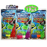 300 Party Pack Bunch O Balloons - 9 Bunches Totals 300 Easy Fill Water Balloons (Colors May Vary) - Fun Toy Gift Party Favors
