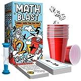 Math Blast! Math Game for Kids 8 - 12 & Over - Fun Educational Board Game - Learn Math The Fun Way