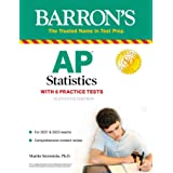AP Statistics with 6 Practice Tests (Barron's Test Prep) (English Edition)