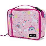 PackIt Freezable Classic Lunch Box, Unicorn Sky Pink