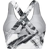 Sports Bras for Women, Running Criss Cross Workout Bras Medium Support Sport Bra Padded Yoga Bra