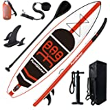 "FunWater Inflatable Stand Up Paddle Boards 11'×33""×6"" Ultra-Light (17.6lbs) SUP for All Skill Levels Everything Included with"