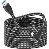dethinton USB C Link ケーブル 5M ナイロンブレード、Oculus Link ケーブル Quest 1/2からゲーミングPC用 USB 3.2 Gen 1 5Gbps/3A…