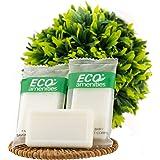 ECO Amenities Travel Size 0.5oz Hotel soap in Bulk White Green Tea 400 Count