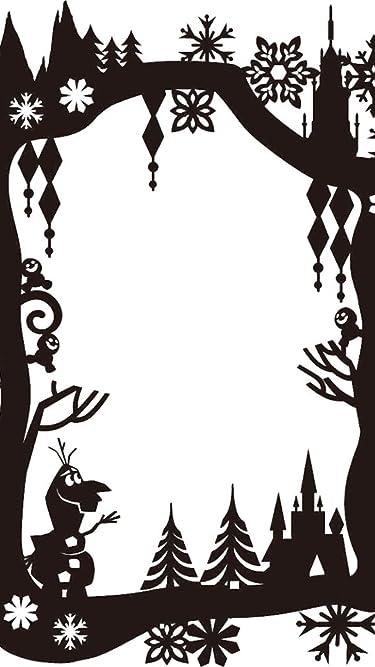 ディズニー  iPhone/Androidスマホ壁紙(540×960)-1 - アナと雪の女王 影絵