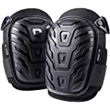 Professional Knee Pads for Work - Heavy Duty Foam Padding Kneepads for Construction, Gardening, Flooring with Comfortable Gel