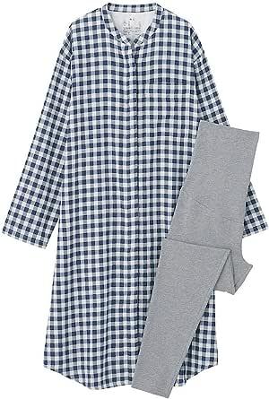 無印良品 脇に縫い目のない 二重ガーゼパジャマ 授乳仕様