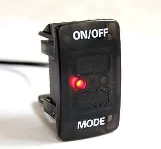ホンダ車用 ネオンLEDを遠隔操作 ワイヤレススイッチセット WS-H01