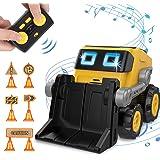 REMOKING Robot Toys, Smart Programmble Remote Control Robots, Intelligent Funny Robotic Sing, Dance, Funny Cute Robot Toys,Da