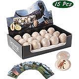 Devalitable Dinosaur Eggs Toys Games Fossils, Dig It Up Kit, STEM Science Kits for 3 4 5 6 7 8 9 10 Year Olds Old Kids Boy Gi