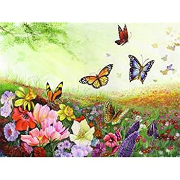 Amazon Lovethefamily 数字油絵 数字キット塗り絵 手塗り Diy絵