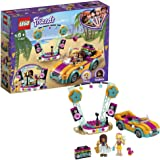 LEGO Friends Andrea's Car & Stage Playset 41390 Building Kit, Includes a Toy Car and a Toy Bird