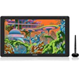 HUION Drawing Tablet KAMVAS 22 Pen Display Drawing Monitor with Battery-Free Stylus and 8192 Pen Pressure and Adjustable Stan
