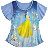 Disney Belle Fashion Tee - Beauty and The Beast - Live Action Film Blue