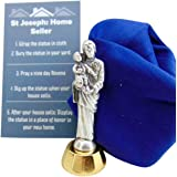 Westman Works St Joseph Statue for Selling Homes Kit with Instruction Card and Burial Cloth Set