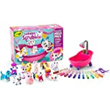 Crayola Scribble Scrubbies, Mega Pack, Toy Pet Playset,  Kids, Includes 12 Washable Pet Figurines, 12 Washable Markers, 2 Scr