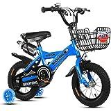 子供用自転車幼児自転車 キッズバイク幼児自転車12インチ14インチ16インチ18インチ子供2-10歳でトレーニングホイールウォーターボトル用バイク
