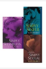 Kate Pearce Bundle: Simply Sexual, Simply Sinful & Simply Shameless (House of Pleasure) Kindle Edition